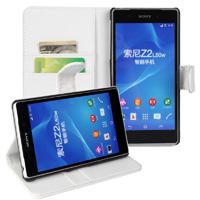 Xperia Z2 Wallet Case - White
